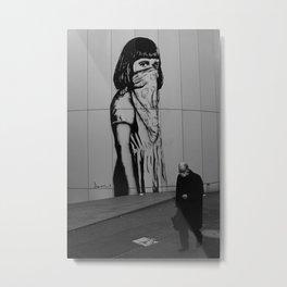 Masked in Japan Metal Print
