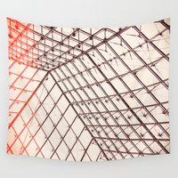 pyramid Wall Tapestries featuring pyramid by shannonblue