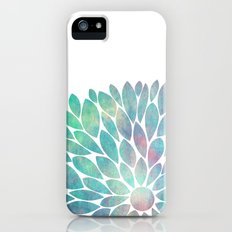 Watercolor Flower Slim Case iPhone (5, 5s)