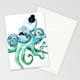 Dapper Octopus Stationery Cards