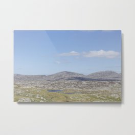 Golden Highway Lewis and Harris 3 Metal Print