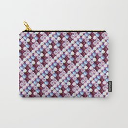 tile-pattern Carry-All Pouch
