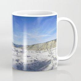 Mammoth Hot Springs, Yellowstone National Park Coffee Mug