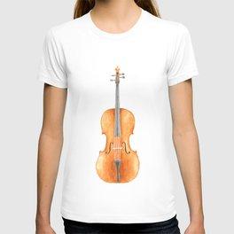Cello - Watercolors T-shirt