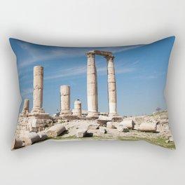 Citadel in Amman, Jordan Rectangular Pillow