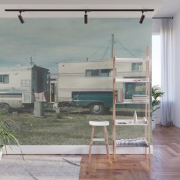 HOME IS WHERE YOU PARK IT Wall Mural