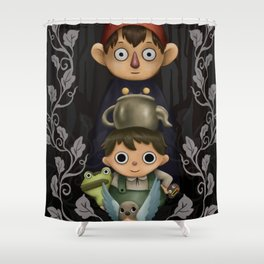 Over the Garden Wall. Shower Curtain