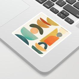 Modern Abstract Art 72 Sticker