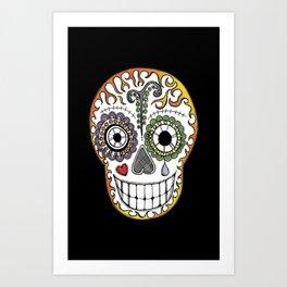 Dia de los Muertos iPhone Cover Art Print