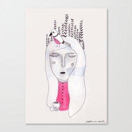 Companion Canvas Print