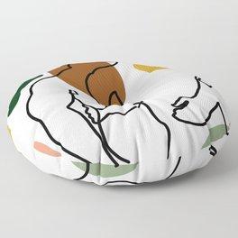 NOODDOOD Linework 1 Floor Pillow