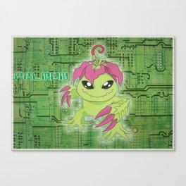 Digimon Adventure - Palmon Canvas Print