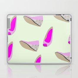 Pink shoe Laptop & iPad Skin