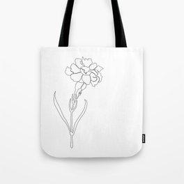 Carnation Lines Tote Bag