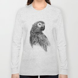 Gray Parot G083 Long Sleeve T-shirt