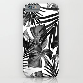 Tropical Jungle Leaves Pattern #10 #tropical #decor #art #society6 iPhone Case
