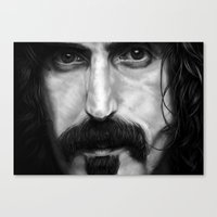 frank Canvas Prints featuring Frank by ClaM