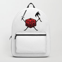 D20 Warrior Fighter Backpack