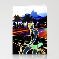 zappa Stationery Cards featuring Sempre by img forest