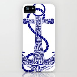 Tribal Anchor iPhone Case