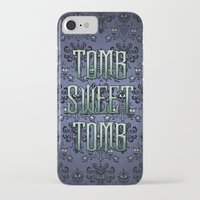 haunted mansion iPhone & iPod Cases featuring Haunted Mansion - Tomb Sweet Tomb by Brianna