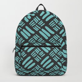 Minty Gray Backpack