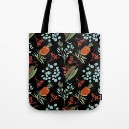 Australian Botanicals - Black Tote Bag