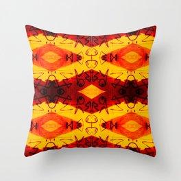 Graffitti - Infinity Series 003 Throw Pillow