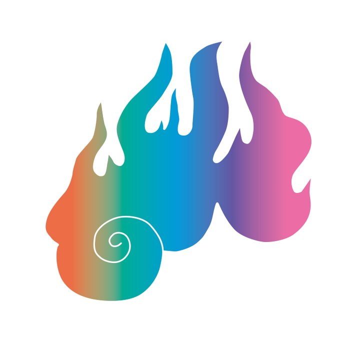 Rainbow Flame of God's Wrath Comforters