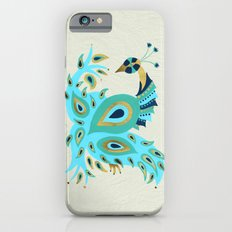 Peacock – Turquoise & Gold iPhone 6 Slim Case