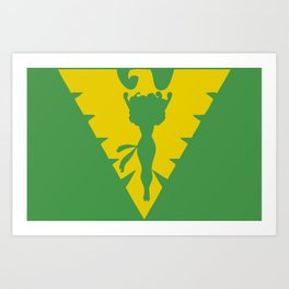 Phoenix Symbol Art Print