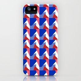 El Blue Cruce iPhone Case