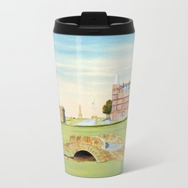 St Andrews Golf Course 18th Hole Travel Mug