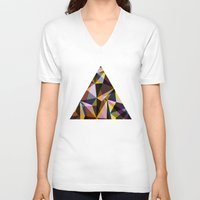 gta v V-neck T-shirts featuring ∆ V by AJJ ▲ Angela Jane Johnston