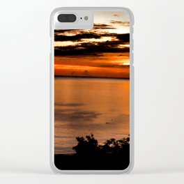 Sea Reflection Crystallized Clear iPhone Case