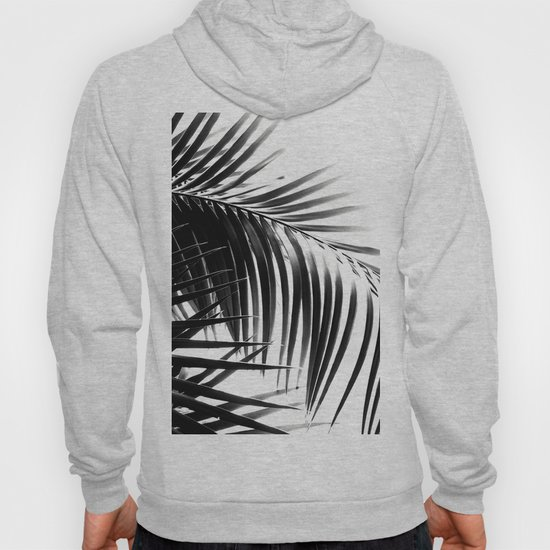 Palm Leaves Black & White Vibes #3 #tropical #decor #art #society6 by anitabellajantz