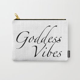 Goddess Vibes Carry-All Pouch