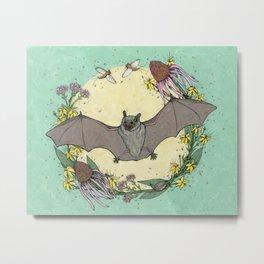 big brown bat. Metal Print
