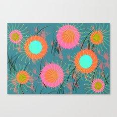 Fantasy Flower Canvas Print