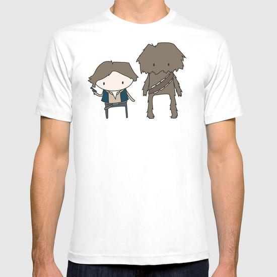 Han Solo & Chewie T-shirt