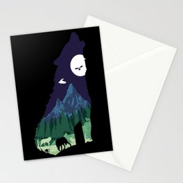 Pride of the Forest Stationery Cards