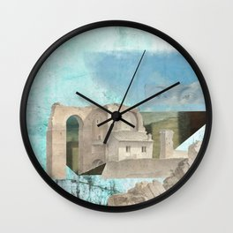Faded fantasies of a neglected mind Wall Clock