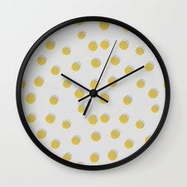 Dots over Dots Wall Clock