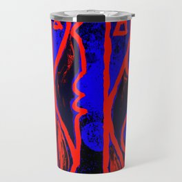 PEOPLE - Abstract cubist Travel Mug