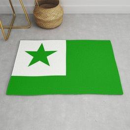 Flag of Esperanto 2 Rug