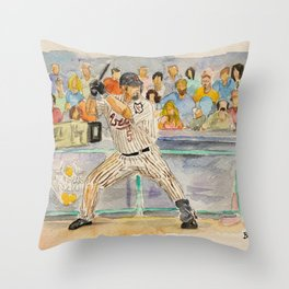 Jeff Bagwell_HOF Houston Throw Pillow
