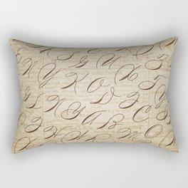 Calligraphitis Rectangular Pillow