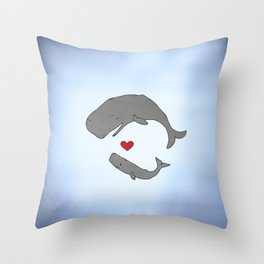 Big Love Throw Pillow
