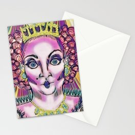 Queen Aggrivated. Stationery Cards