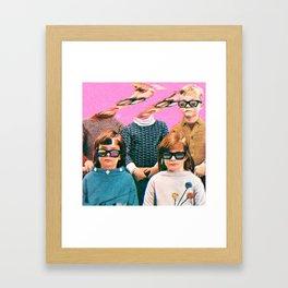 Creeps Framed Art Print